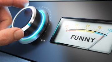When does humor signal marital problems?