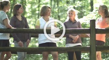A day in the park with Nancy Guthrie